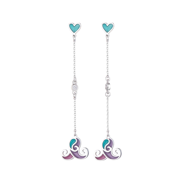Z Alice Unicorn Beauty Earrings