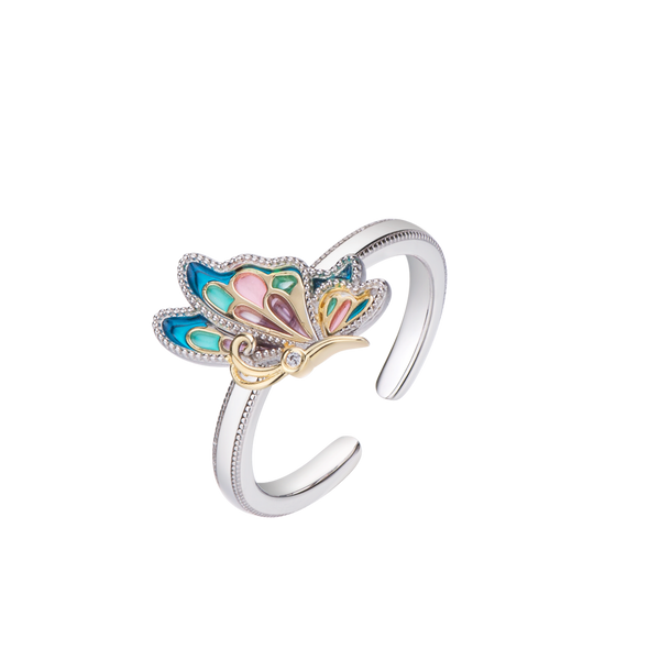 Z Alice Simple Butterfly Ring