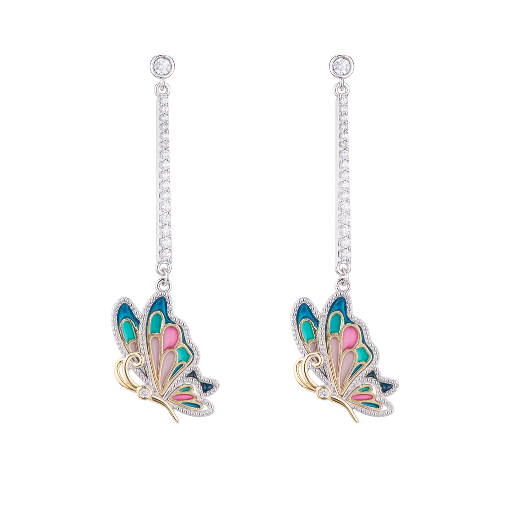Z Alice Butterfly Earrings - Euro Sparkles