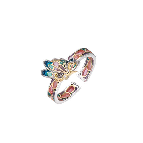 Z Alice Butterfly Ring