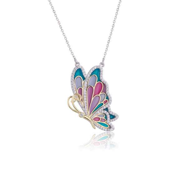 Z ALice Butterfly Necklace