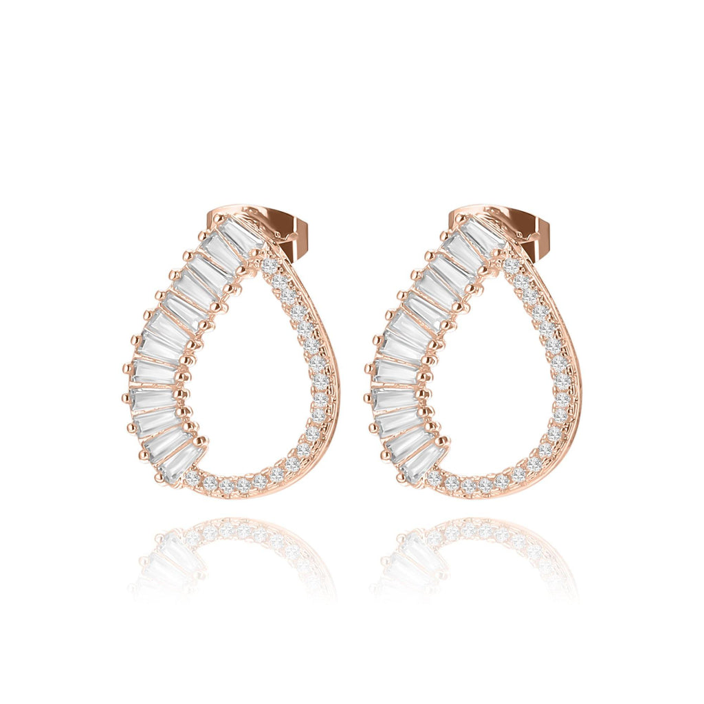 Elegancia Water Drops Earrings - Euro Sparkles