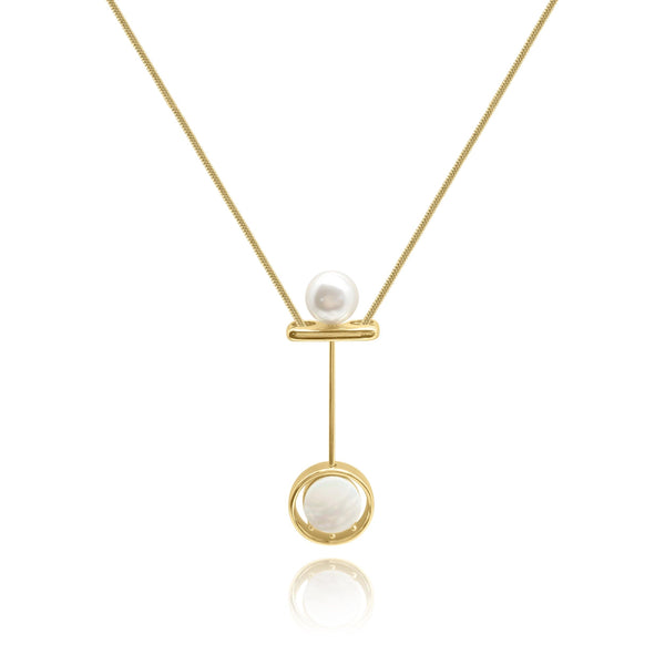 Firenze Pearl MOP Necklace