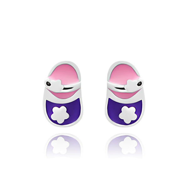 Baby Sandals Stud Earrings - Euro Sparkles