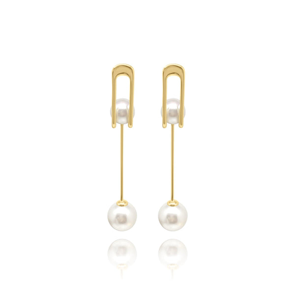 Firenze Pearl Pearl Earrings - Euro Sparkles