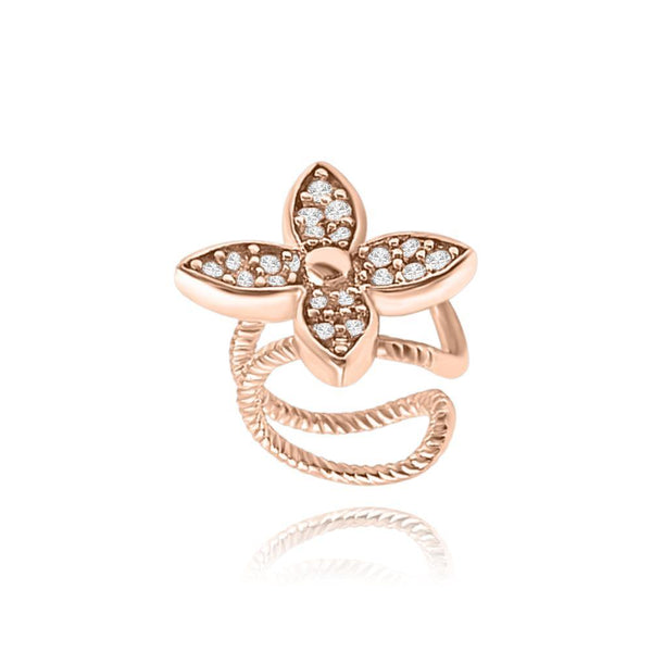 Les Lia Flower ear Cuff