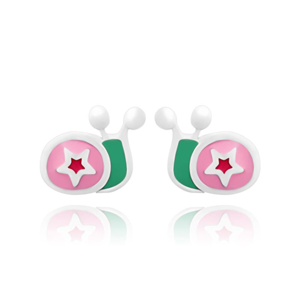 CC Baby Snails Stud Earrings - Euro Sparkles