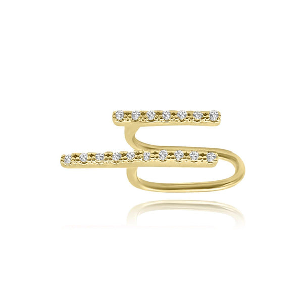 Les Lia Parallel ear Cuff