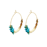 St. Tropez Beed Hoops - Euro Sparkles