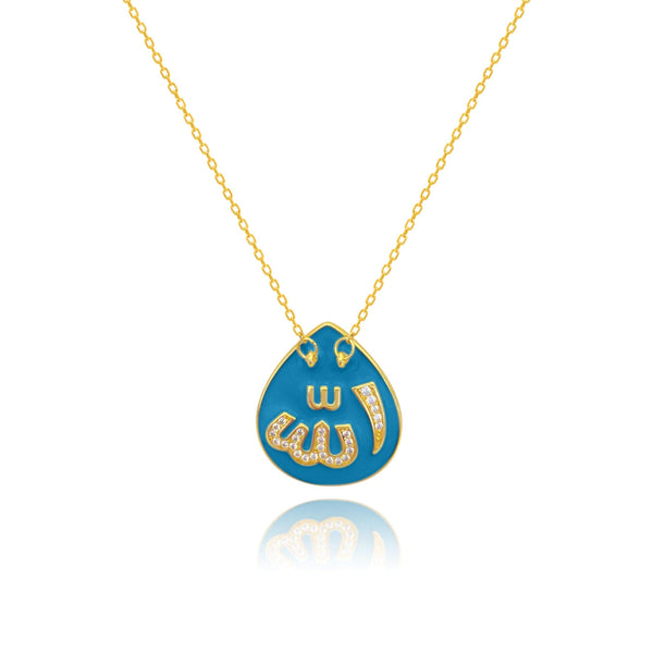 Azure Heaven Alhambra Allah Necklace