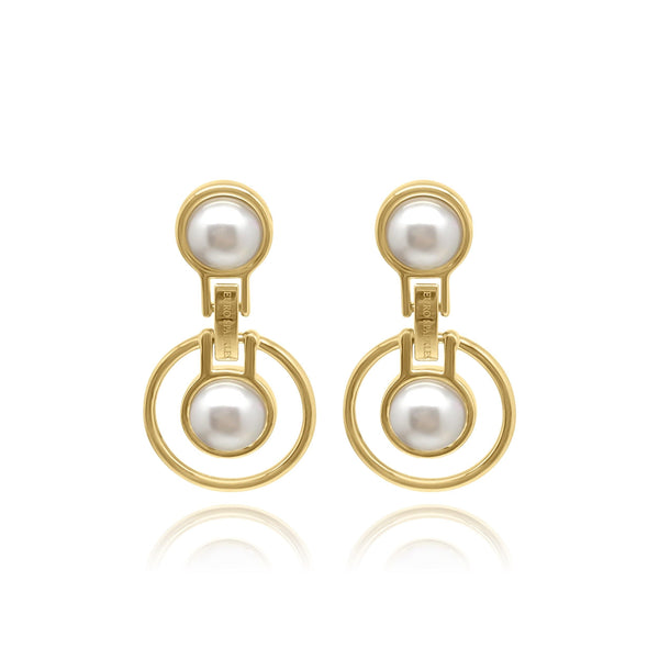 Firenze Pearl Universe MOP Earrings - Euro Sparkles