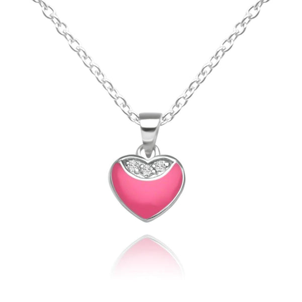 CC Baby Pink Little Hearts Necklace