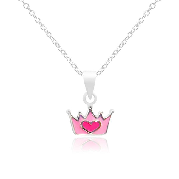 CC Baby Princess crown Necklace - Euro Sparkles