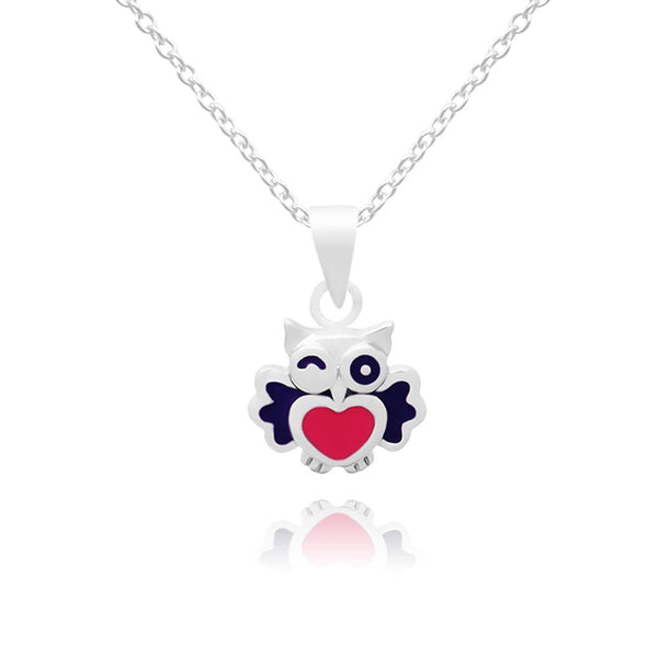 CC winkling Baby Owls Necklace