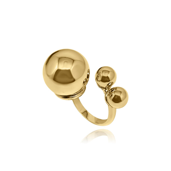 Marbella Triple Ball Ring