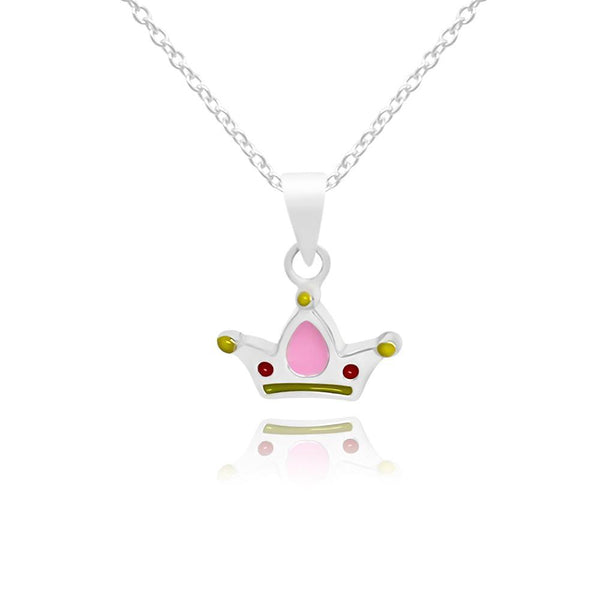 CC Baby Mermaid Crown Necklace