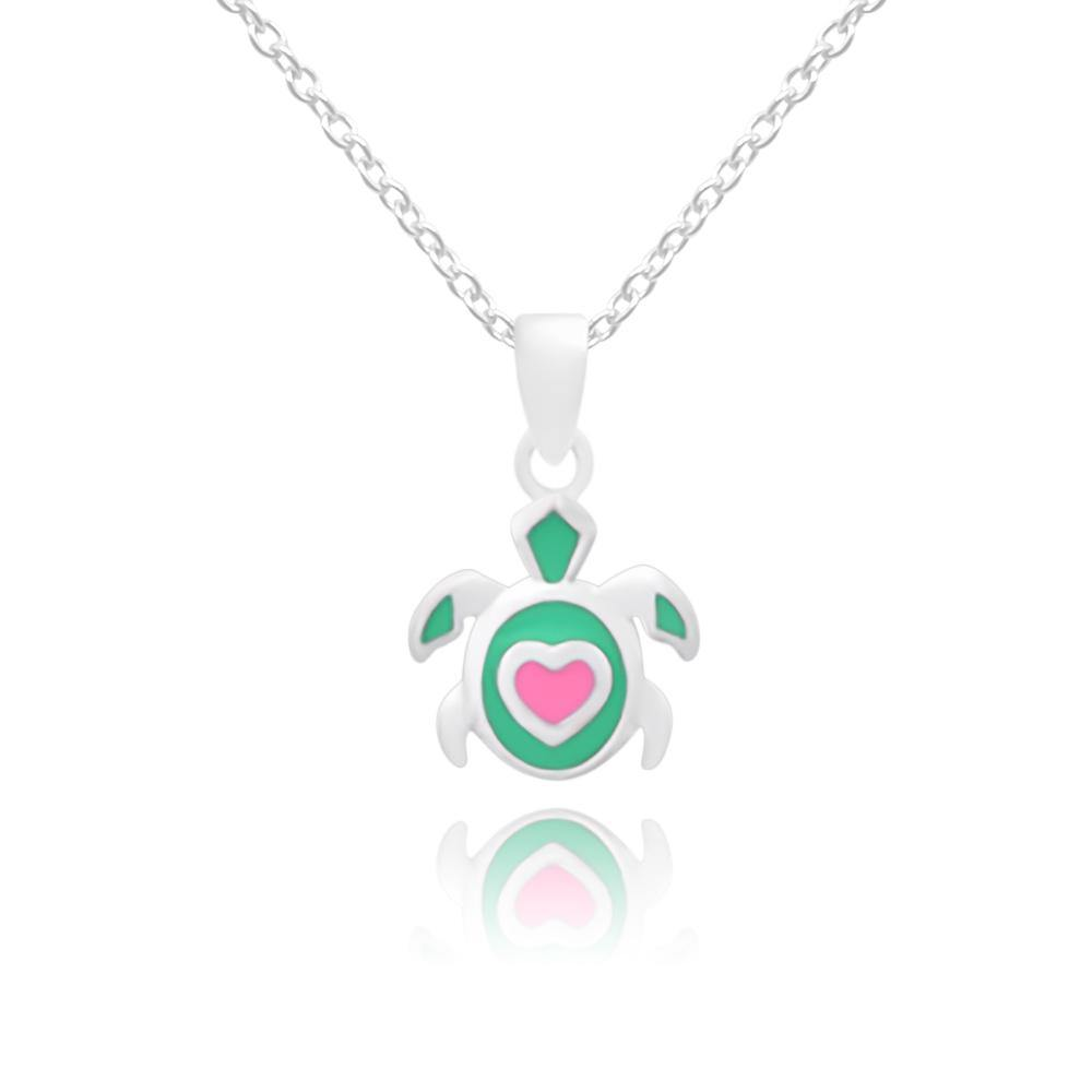 CC Baby Fortunate Turtles Necklace - Euro Sparkles