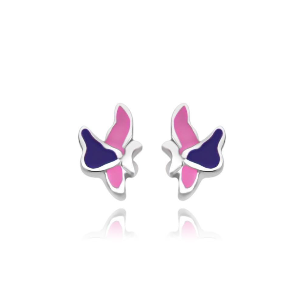 CC Pink Baby Skippers Stud Earrings