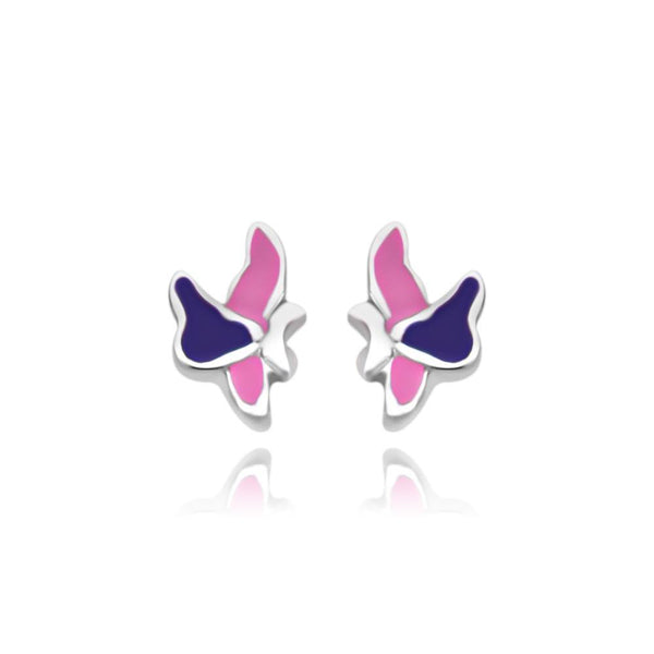 CC Pink Baby Skippers Stud Earrings - Euro Sparkles