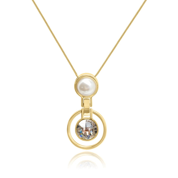 Firenze Pearl Universe Necklace - Euro Sparkles
