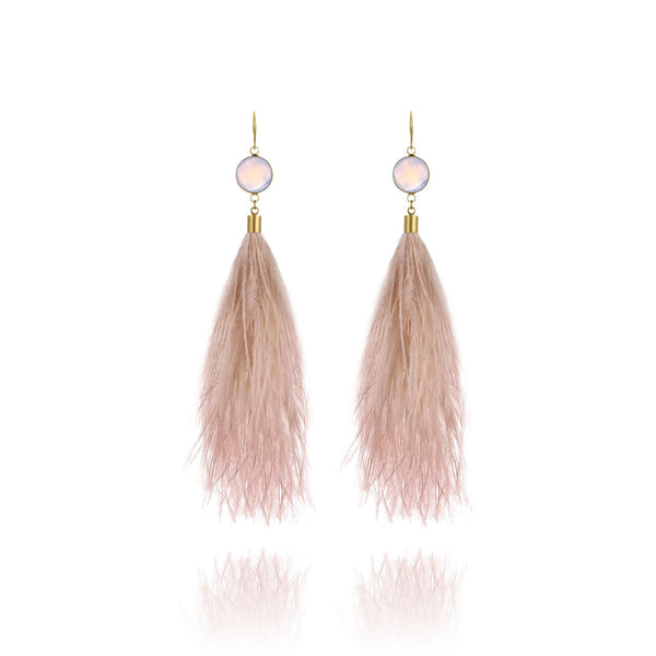 St. Tropez Feather Earrings