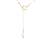 Hidden Treasure Pandola White Quartz Necklace