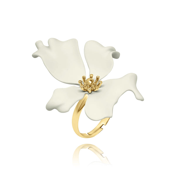 Las Flores Orchids Ring