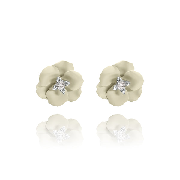 Las Flores Mini Cherry Blossom Earrings