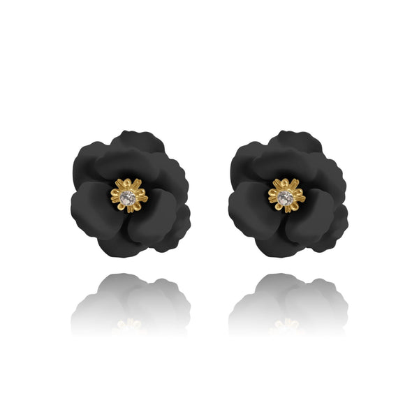 Las Flores Cherry Blossom Stud Earrings - Euro Sparkles