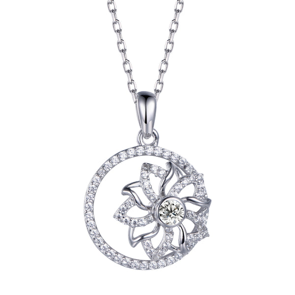 Twinkling Joy Flower Necklace