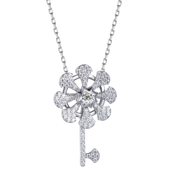 Twinkling Joy Key Necklace