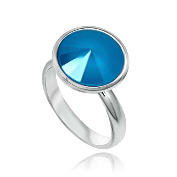 Bella Ocean Blue Ring