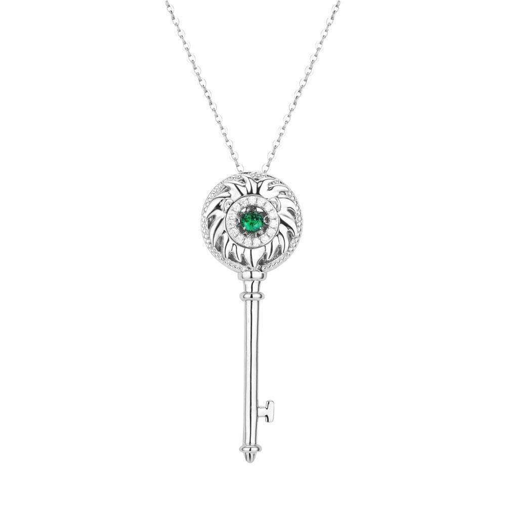 Astra Key Leo Necklace - Euro Sparkles