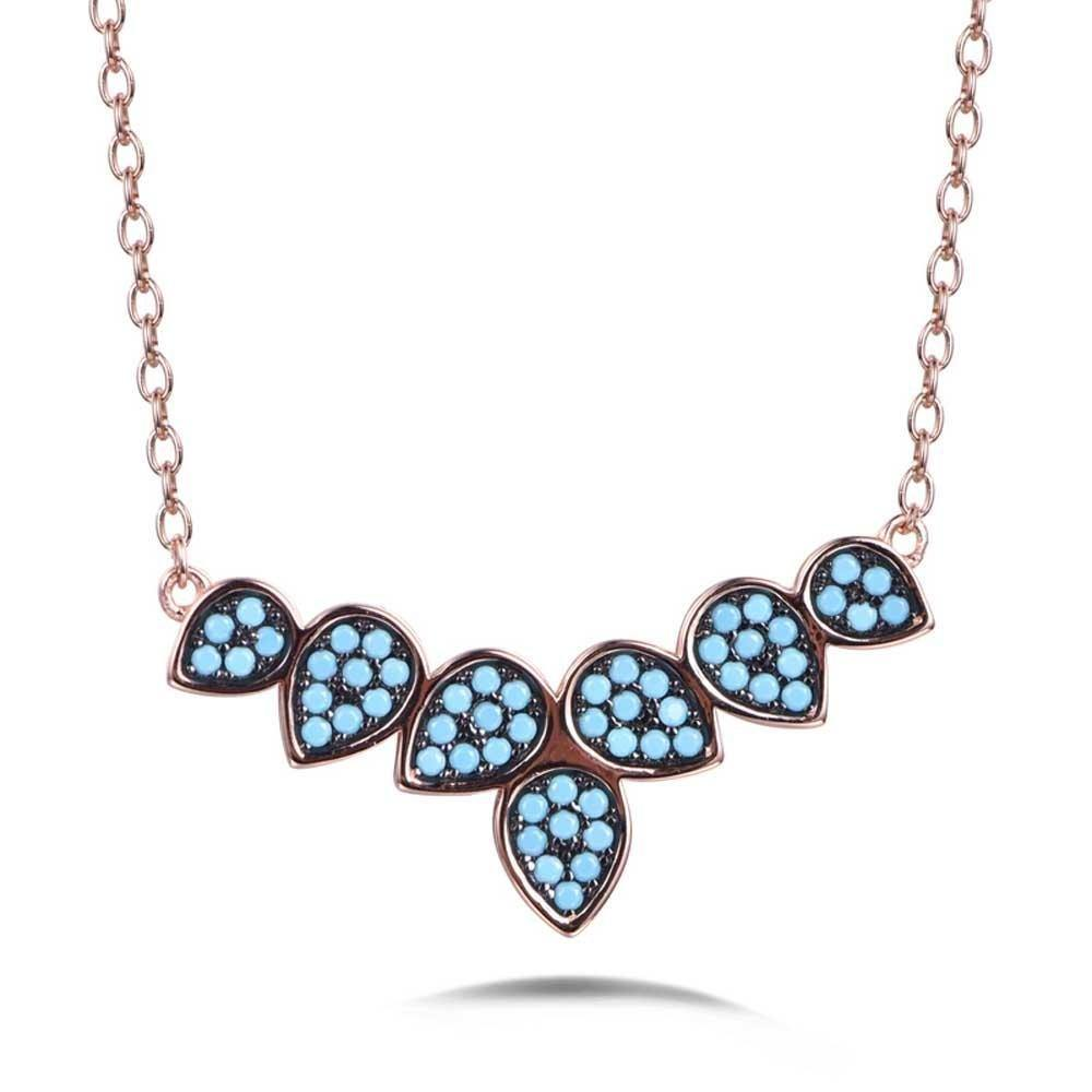 Azure Tree Necklace - Euro Sparkles