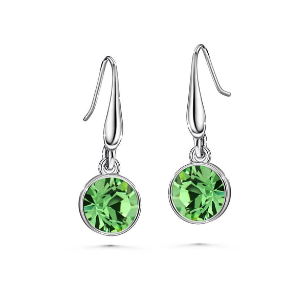 Color of Soul Earrings August (Peridot) - Euro Sparkles