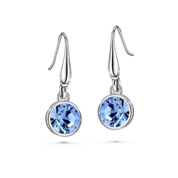 Color of Soul Earrings December (Light Sapphire) - Euro Sparkles