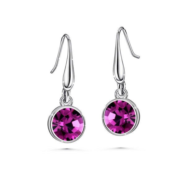 Color of Soul Earrings February (Amethyst) - Euro Sparkles
