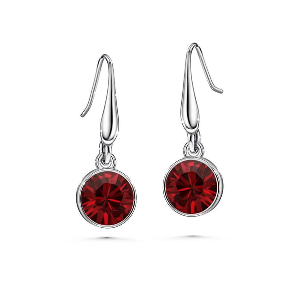 Color of Soul Earrings July (Ruby) - Euro Sparkles