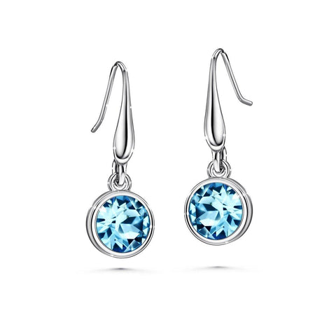 Color of Soul Earrings March (Aquamarine) - Euro Sparkles