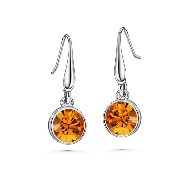Color of Soul Earrings November (Topaz) - Euro Sparkles
