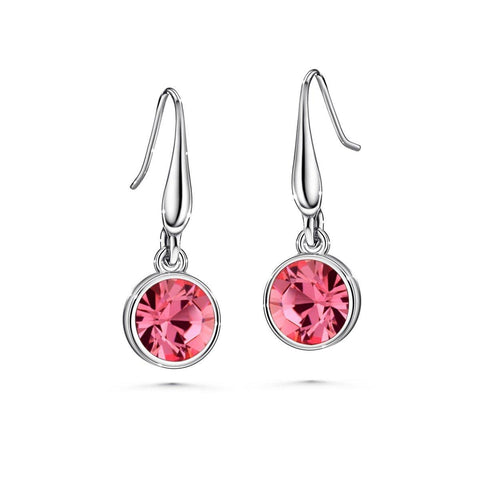 Color of Soul Earrings October (Rose) - Euro Sparkles
