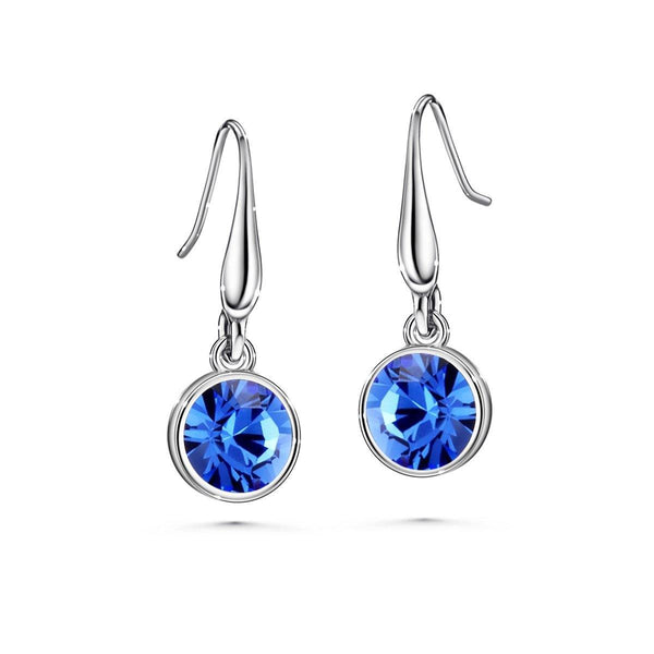 Color of Soul Earrings September (Sapphire) - Euro Sparkles