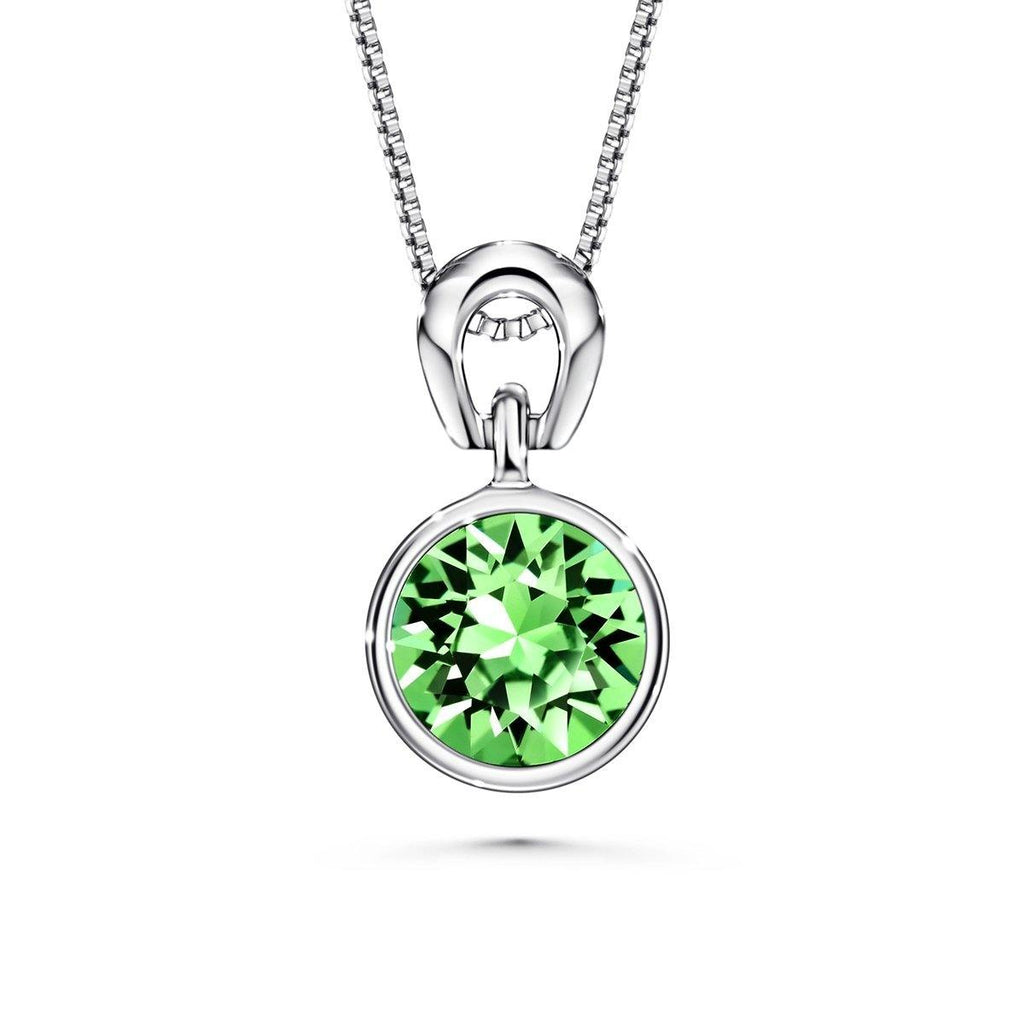 Color Of Soul Necklace August (Peridot) - Euro Sparkles