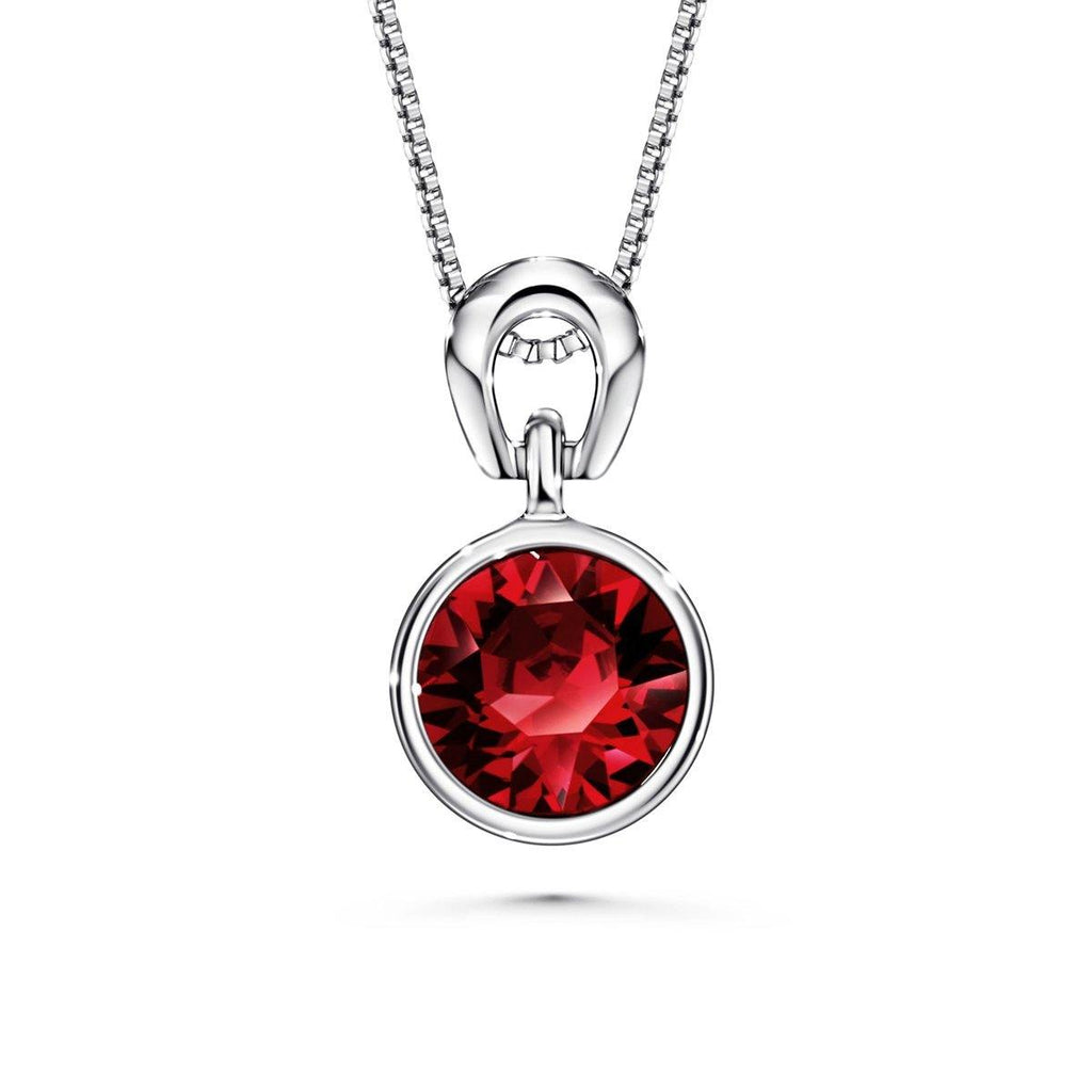 Color Of Soul Necklace July (Ruby) - Euro Sparkles