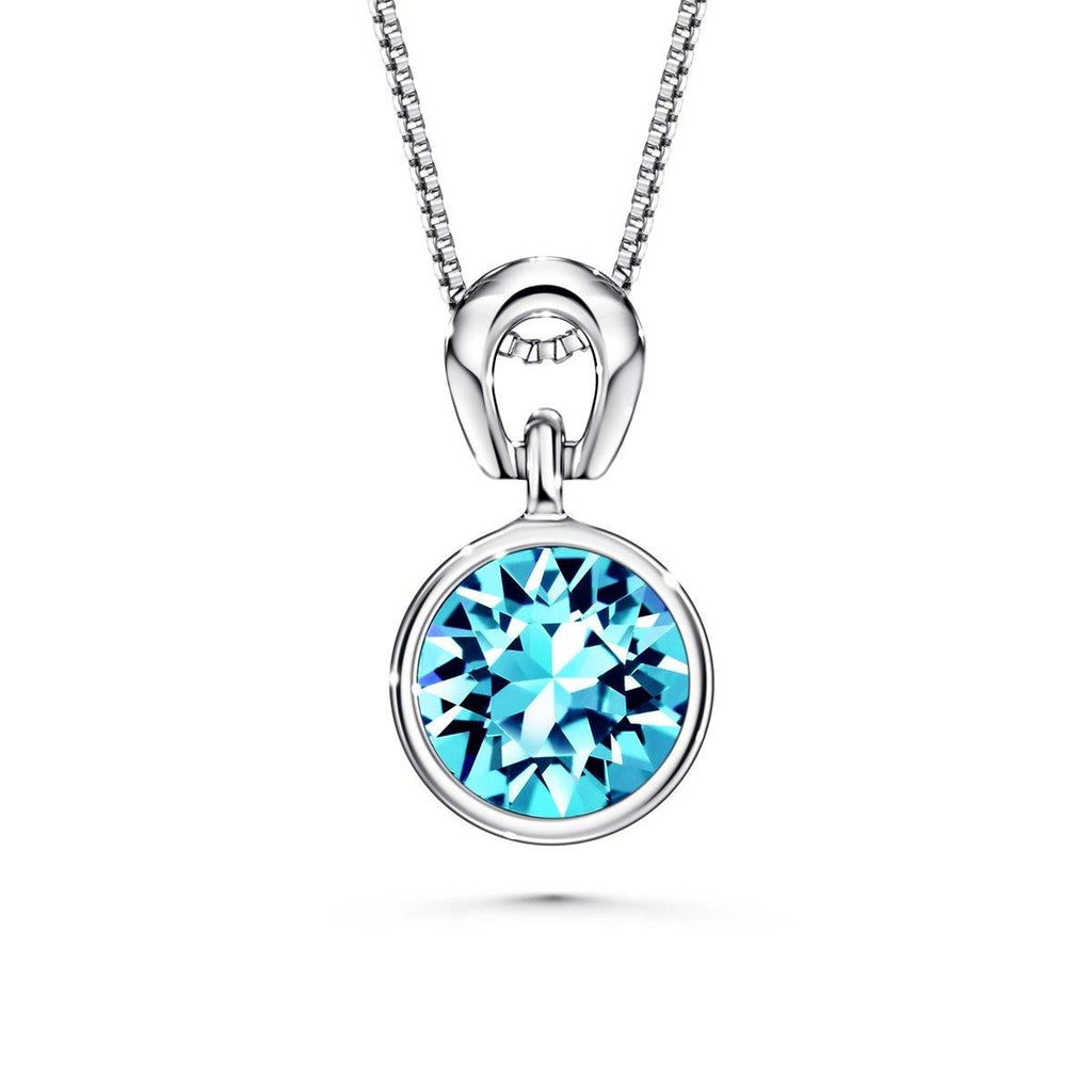 Color Of Soul Necklace March (Aquamarine) - Euro Sparkles