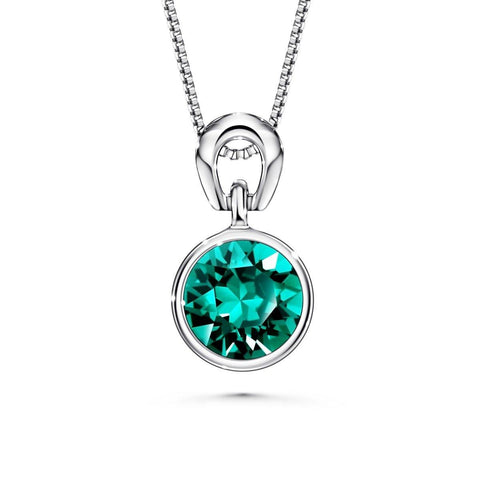 Color Of Soul Necklace May (Emerald) - Euro Sparkles