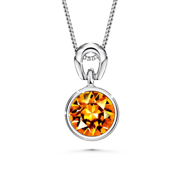 Color Of Soul Necklace November (Topaz) - Euro Sparkles