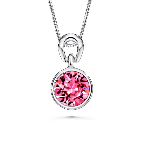 Color Of Soul Necklace October (Rose) - Euro Sparkles