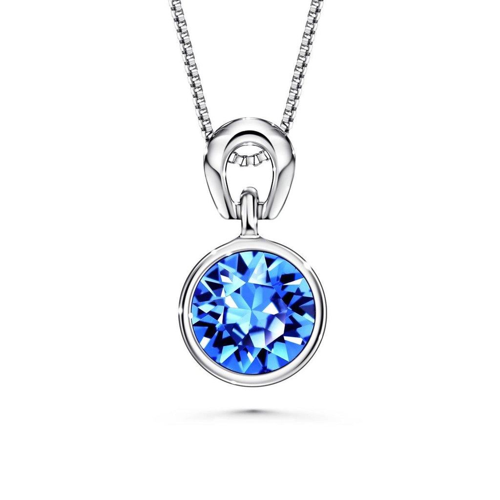 Color Of Soul Necklace September (Sapphire) - Euro Sparkles