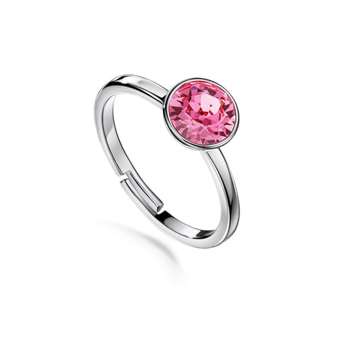 Color of Soul Ring October (Rose) - Euro Sparkles